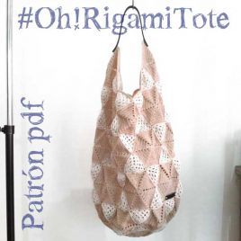 Bolsa de ganchillo. The OhRigami Tote